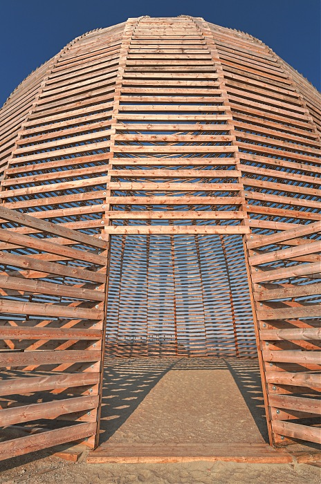 photoblog image The wooden dome at Beaufort 3 #3
