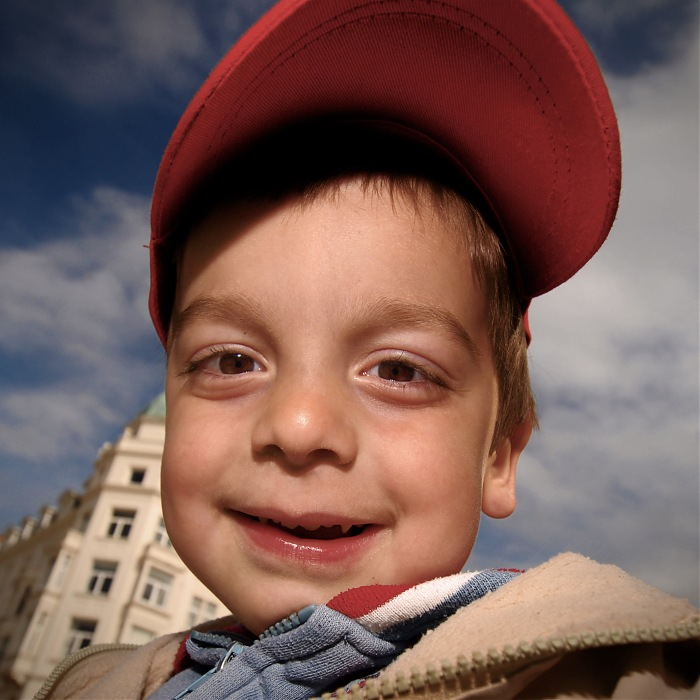 photoblog image Red Cap Boy