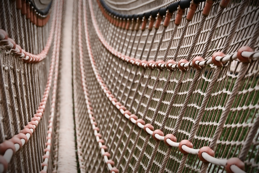photoblog image Bridge of Ropes