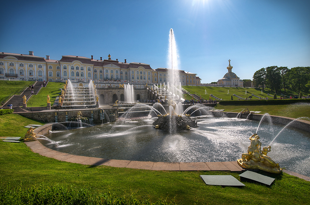 photoblog image Peterhof in St Petersburg